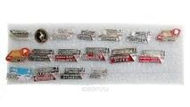 Студенческий строительный отряд. Комплект из 17 значков. Металл, эмаль. СССР, 1970-1991 гг.