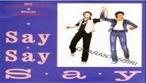 Say Say Say/Ode To A Koala Bear Paul McCartney & Michael Jackson (Facciate2)