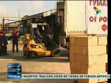 Llega a Donetsk convoy humanitario proveniente de Rusia