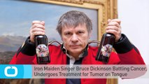 Iron Maiden Singer Bruce Dickinson Battling Cancer, Undergoes Treatment for Tumor on Tongue