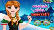 Congelés - Jeux princesse Anna Frozen au jeu de dentiste - Jeux gratuits en ligne