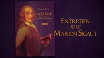 """Marion Sigaut présente son livre """"Voltaire, une imposture au service des puissants"""""""