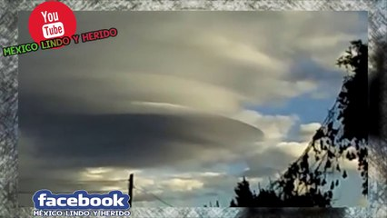 ▶ Impresionante OVNI en Tlaxcala México 20-02-2015