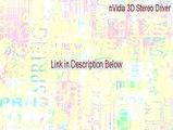 nVidia 3D Stereo Driver (Windows 2000/XP) Key Gen [Instant Download 2015]