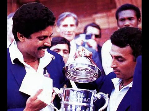INDIAs First Cricket World Cup Win, Prudential World Cup, 1983