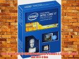 Intel Boxed Core i7-5930K Processeur 8 Coeurs 2133 GHz Socket LGA 2011-3 Box