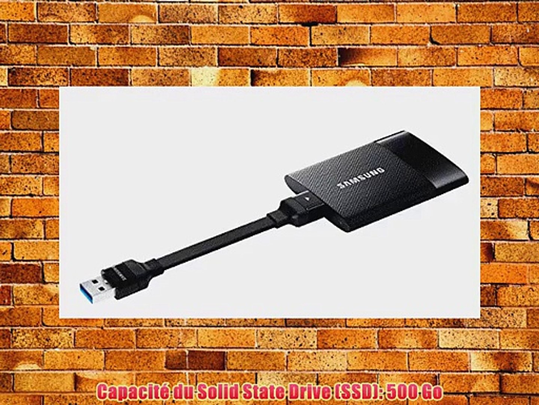 Samsung MU-PS500B//EU Disque SSD externe 500 GB USB 2.0//3.0 Noir