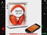 Parrot Zik 2.0 Casque audio Bluetooth by Philippe Starck - Orange