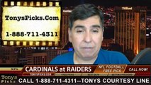 Tonys Picks Handicapping TV Show Free NFL Football Predictions Previews Odds October 13th 2014
