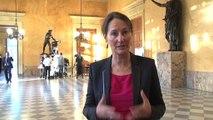 Ségolène Royal salue le vote de la loi sur la transition énergétique pour la croissance verte à l'Assemblée Nationale mardi 14 octobre 2014
