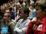 Plus de 700 collégiens répètent pour le concert de l'Aube à l'unisson