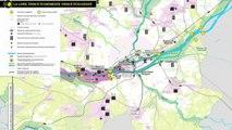 Nantes, La Loire et Nous : Carte du thème Espace économique, Espace écologique