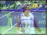 2001 Seles/Gambill def Hingis/Federer