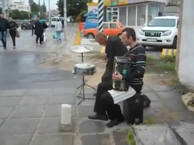 Weird Russian Street Musicians