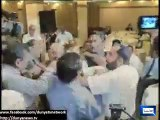 Dunya News - Doctor chants GoNawazGo slogans during Khwaja Salman Rafique's speech at PMA event in Lahore
