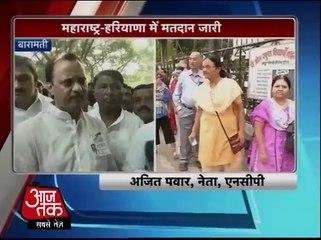 Ajeet Pawar appeals people to vote
