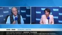 """Marisol Touraine : """"le tiers payant, c'est un progrès"""""""