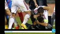 Bagarre générale durant Serbie-Albanie, match arrêté - Éliminatoires de l'Euro 2016