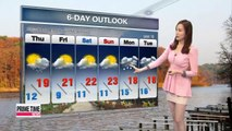Showers expected for some regions amid chilly conditions