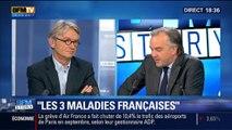 """BFM Story: Emmanuel Macron s'attaque aux """"trois maladies de la France"""" - 15/10"""