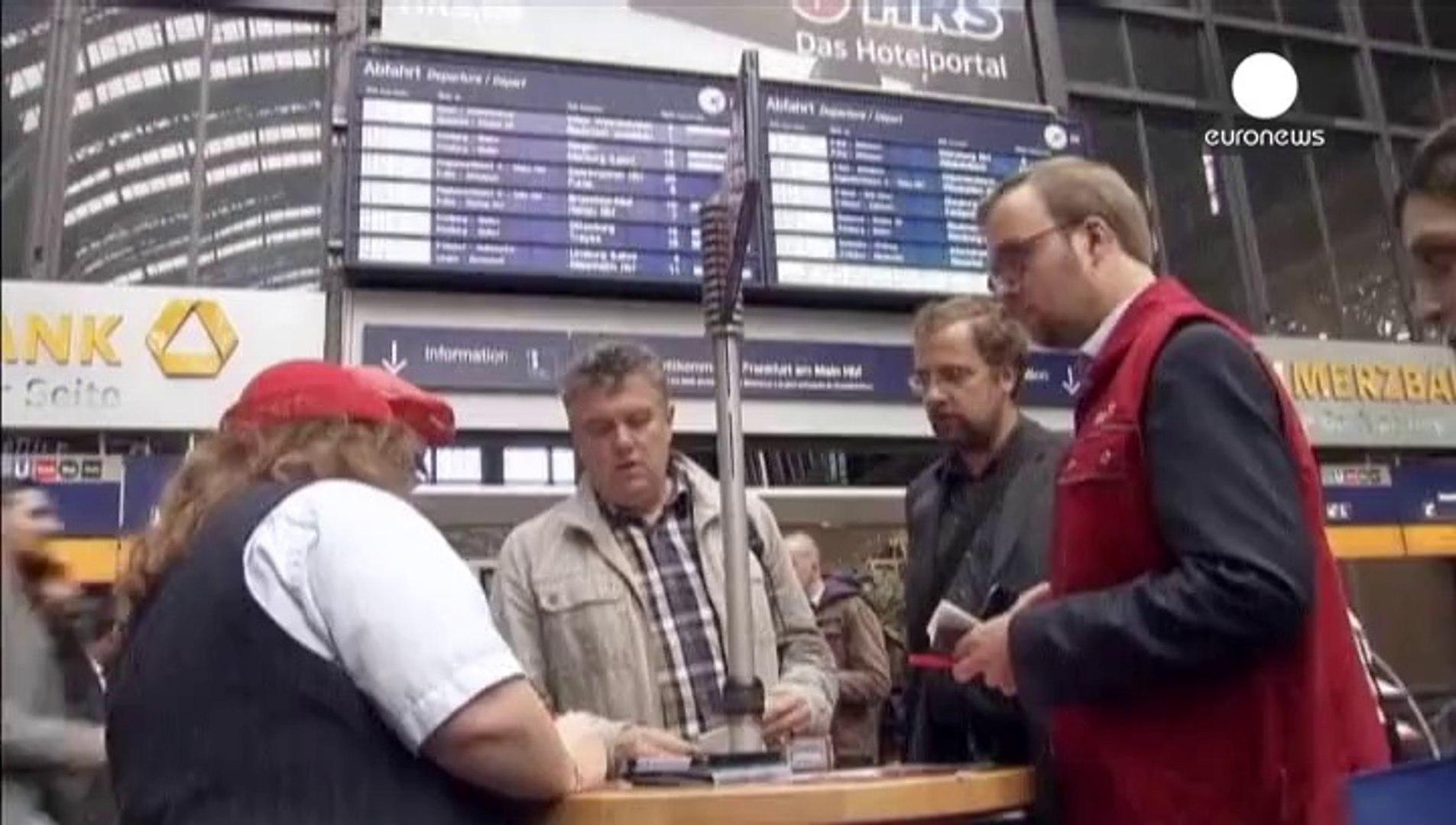 Alemanha: Greves nos comboios e nos aviões