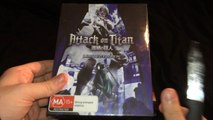 Attack on Titan - Limited Edition Collection 2 Bluray // Unboxing