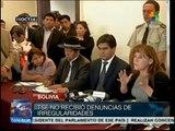 Etapa final del cómputo confirma victoria electoral de Evo Morales