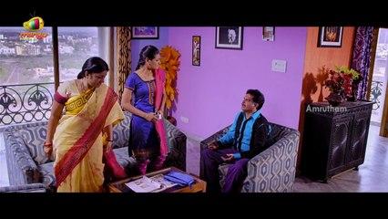 Amrutham Chandamama Lo Scenes -  Srinivas Avasarala Funny Warning to Son Laden - Harish Koyalagundla