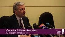 Didier Reynders au chevet de la crise !