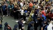 """""""Occupy Wall Street"""" occupe aussi les ponts de New York"""
