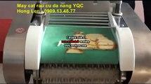 Máy thái sợi cà rốt, máy thái sợi củ cải dạng xoắn, máy thái sợi, lát củ cải, cà rốt, dưa leo YQC