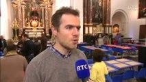 La Collégiale St-Barthélemy à Liège fête Noël avec les défavorisés