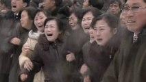 Obsèques de Kim Jong-II: des larmes encore des larmes