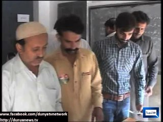 NA-149 by-polls: Voters cast vote after showing it to polling agents