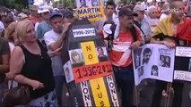 Quelques milliers de personnes à la marche de Jean-Denis Lejeune pour réformer la Justice