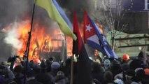 Ukraine: 3 manifestants tués et 150 blessés dans les violences à Kiev