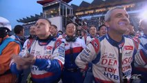 FIA WEC 6 Hours of Fuji LMP1 Podium