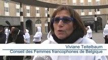 100 femmes marchent dans Bruxelles pour dénoncer les viols