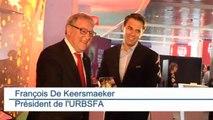 Le trophée de la Coupe du Monde de football est en Belgique!