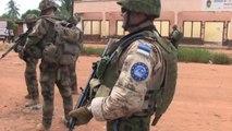 Centrafrique: Première patrouille dans Bangui pour les soldats estoniens de l'Eufor