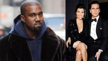 Kanye West doesnt Trust Kourtney Kardashian Boyfriend Scott Disick | Won't let him near North West!
