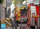 Incendie rue Ragueneau à Troyes