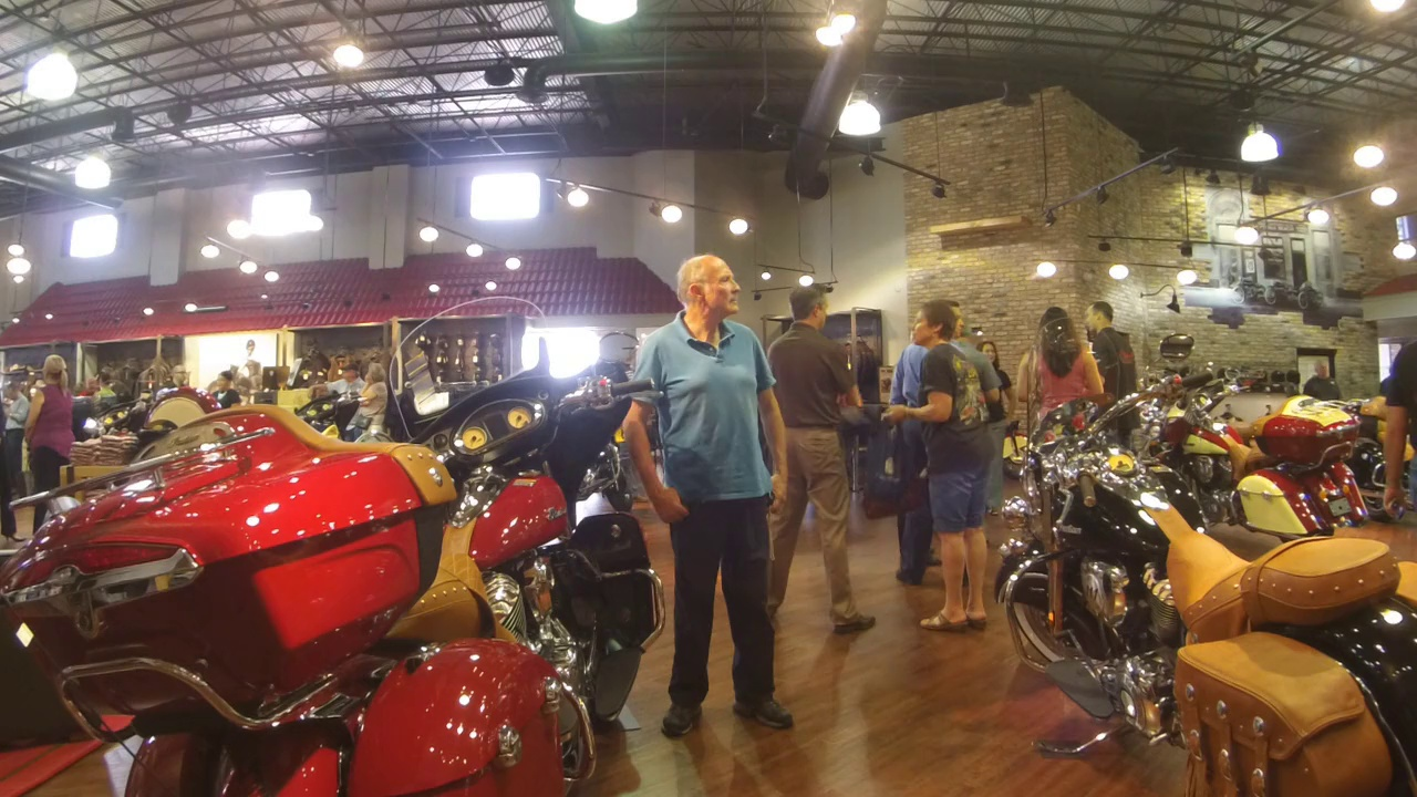 Indian Motorcycle Daytona Beach Opening on 15 October 2014 – #biketoberfest2014
