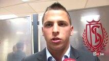 Anthony Moris: 'Un grand honneur pour moi de jouer dans cette équipe du Standard'