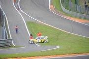 Une spectatrice percutée sur le circuit de Francorchamps