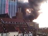 L'incendie du magasin H&M de la Rue Neuve