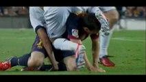 La prise de judo de Coentrao sur Messi