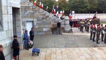 Cérémonie d'hommage aux Bretons morts lors la Grande Guerre