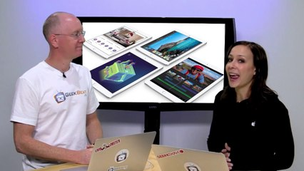 Apple Shows Off New iPads, Macs and OS X Yosemite - GeekBeat.TV