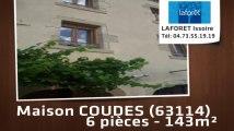 Location - maison - COUDES (63114)  - 143m²